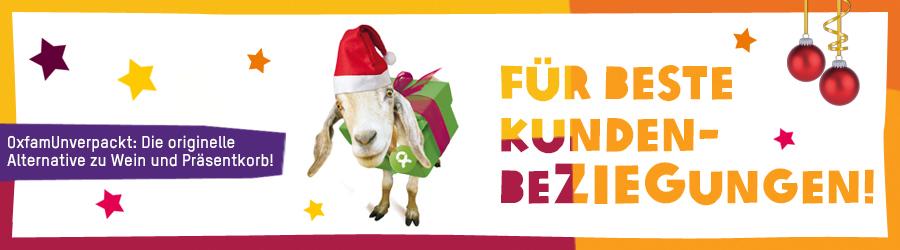 Firmengeschenke Weihnachten.Für Beste Kundenbeziegungen Oxfamunverpackt